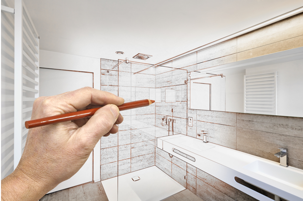 Wareing of Worthing bathroom design